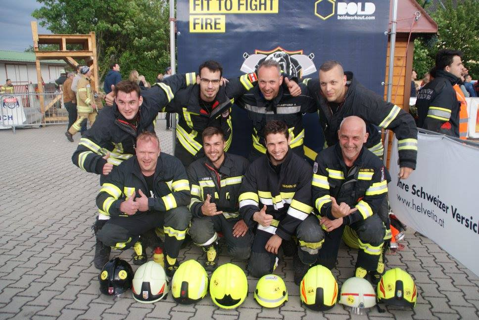 Toughest Firefighter Austria Siegendorf 2017