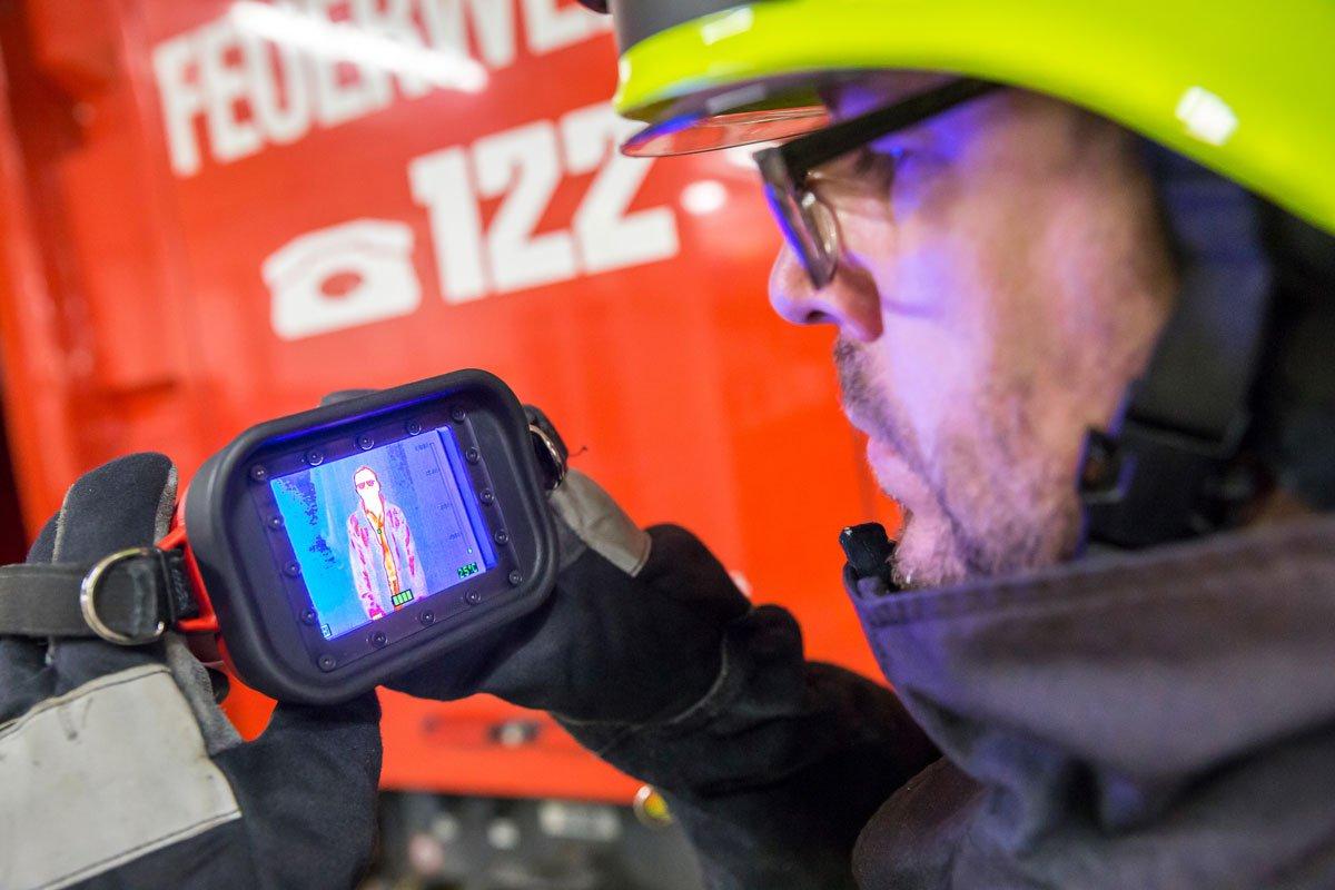 Kirchberger Florianis erhalten Wärmebildkamera
