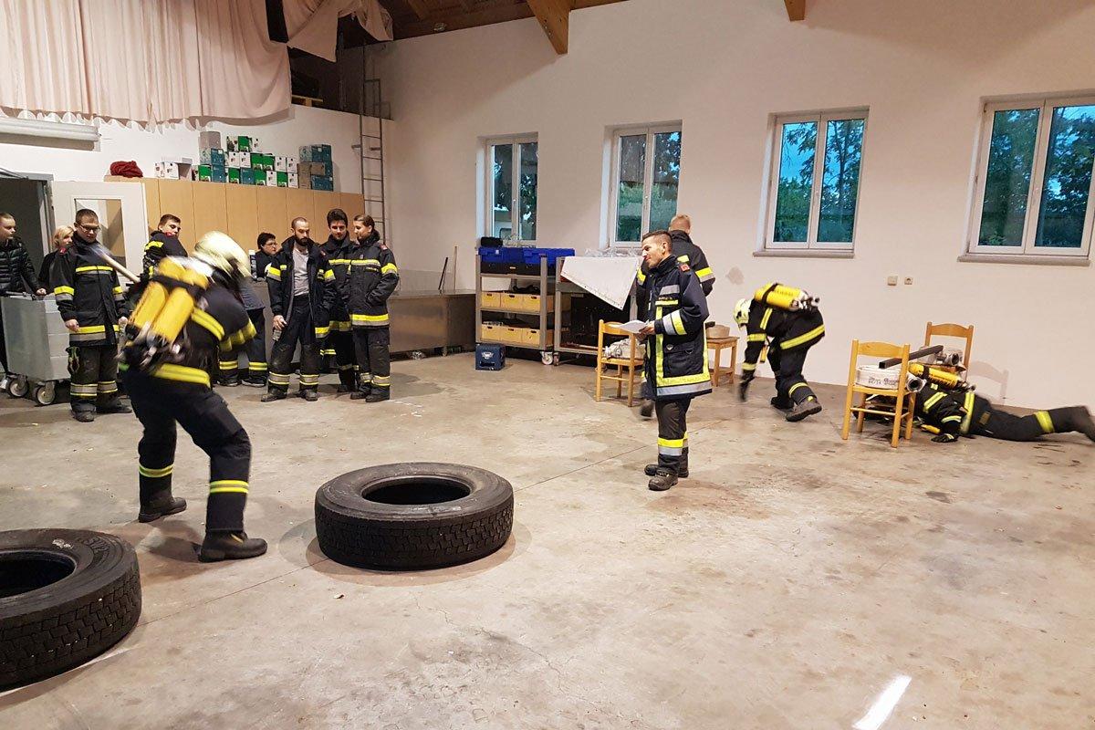 """Grafenwörther Feuerwehrleute """"fit wie die Finnen"""""""