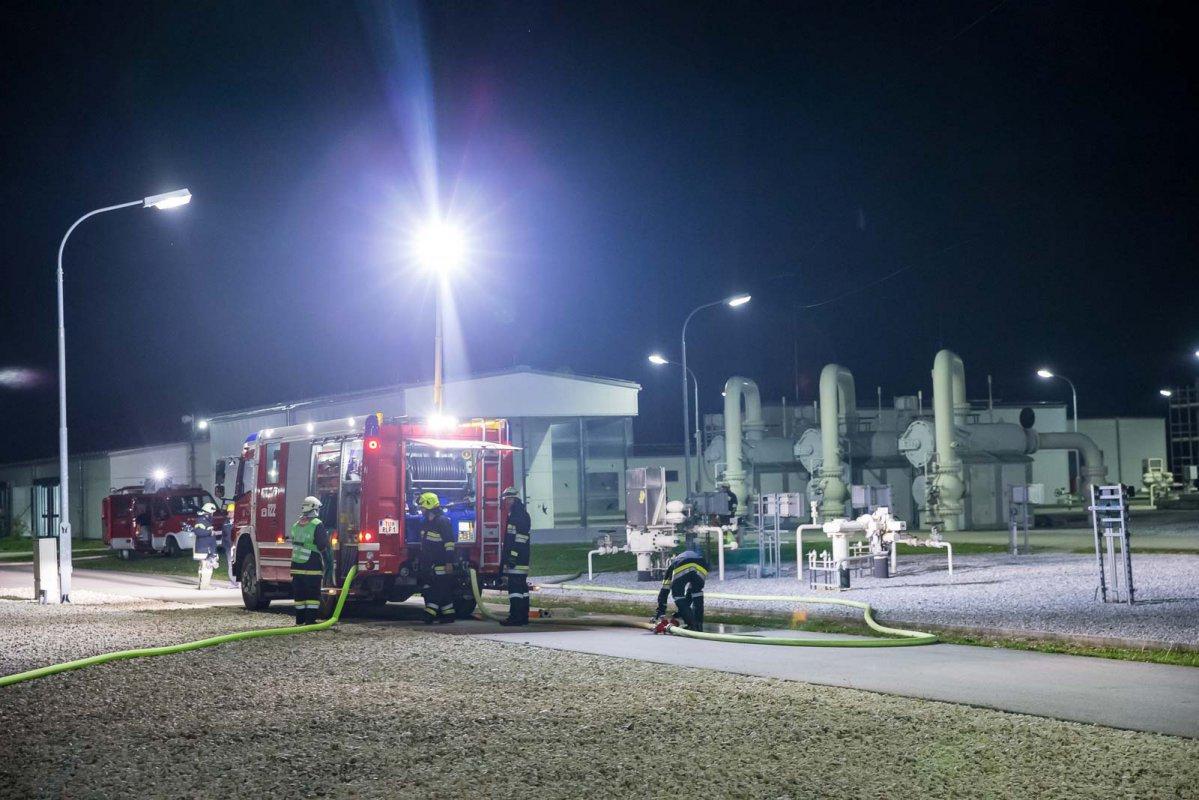 Gas Connect-Übung: Gasleck mit verletzter Person